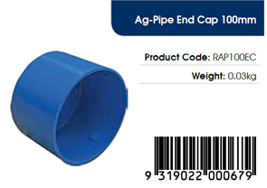 AGFLO 100mm END CAP