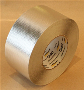 BRADFORD TAPE #493 REINFORCED FOIL 72mm x 50m
