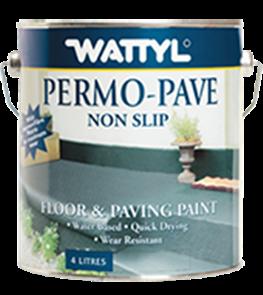 WATTYL PERMOPAVE PAVING PAINT NON SLIP 10ltr