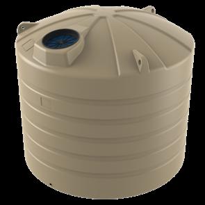 WATER TANK BUSHMANS ROUND SQUAT 5000lt