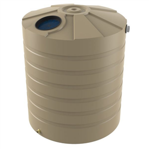 WATER TANK BUSHMANS ROUND TALL 5000lt