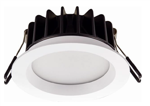 DOWNLIGHT TRI COLOUR W/- INTERCHANGEABLE COLLAR 13W