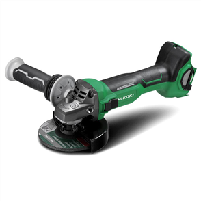 HIKOKI (HITACHI) ANGLE GRINDER NAKED MULTIVOLT BRUSHLESS 125MM  SLIDE SWITCH WITH BRAKE 36V G3613DA(H4Z)