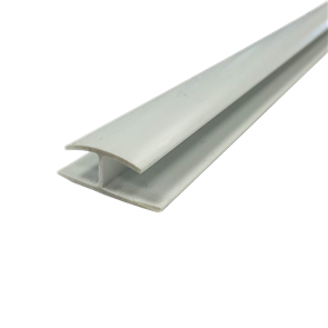 PVC DIVISIONAL MOULD JOINT STRIP WHITE 10mm