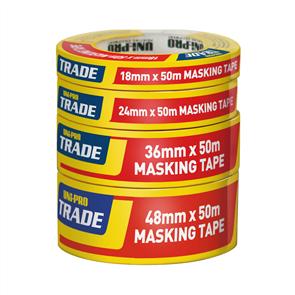 TAPE MASKING TRADE PAINTERS (WHITE) 36mm x 50M