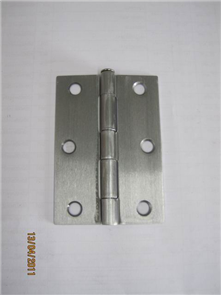 HINGE STEEL BUTT LOOSE PIN POWDER COATED 85 x 60 x 1.6mm