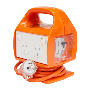 HPM MULTI 4 OUTLET POWER CENTRE with USB