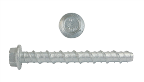 SCREW ANCHOR MASONRY HEX HEAD GALVANISED EACH 10mm