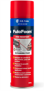 FULAFOAM FIRE RETARDANT TRIPLE EXPANDING POLYURETHANE FOAM 500g