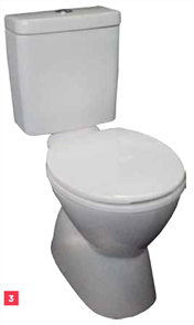 TOILET SUITE MILANO DELUXE VC LINK S TRAP