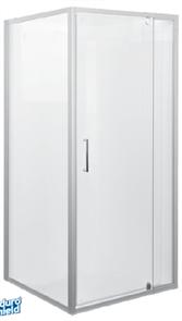 SHOWER SCREEN KIMBERLEY 900X900 DOOR AND RETURN PANEL SET