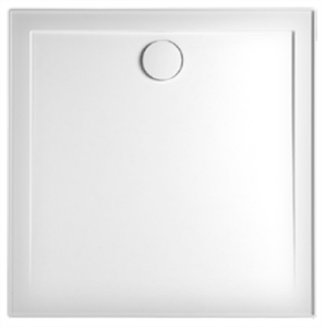 SHOWER BASE FLINDERS SMC BASE KIT CENTRE OUTLET WHITE + WASTE 900 X 900mm