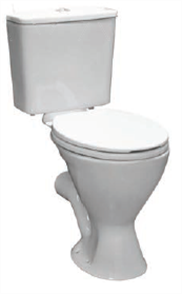 TOILET SUITE PLAZA AMBULANT DELUXE VC LINK INCL DF SC SEAT S TRAP