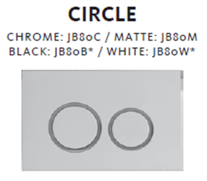CISTERN CIRCLE MECHANICAL BUTTON ONLY FOR ECONOFLUSH