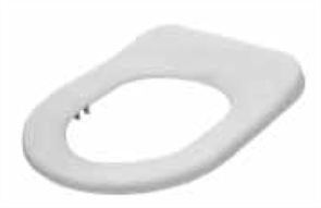 TOILET SEAT LIFE ASSIST SF TOILET SEAT WHITE