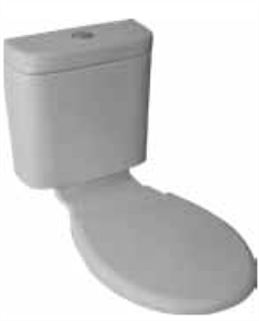 CISTERN MERGE VC WALL SEAT & LINK