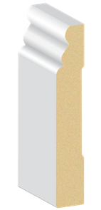 MDF PRIMED AUST. COLONIAL 42 x 12 x 5400mm