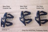 AUSTRAL CLOTHES LINE ROTARY FOLDAWAY RETAINER CLIP PK8