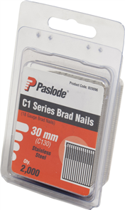 PASLODE  18GA C1 SERIES STAINLESS STEEL BRADS PK2000 - 30mm