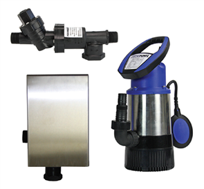 BUSHMANS 8 TAP SUBMERSIBLE PUMP - 80lt PER MIN.