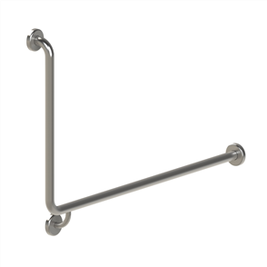 GRAB RAIL 90⁰ TOILET 1000 X 600 X 32mm RIGHT HAND