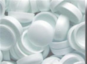 SCREW CAP & BASE WHITE 8-10G PK10