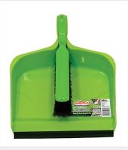 DUSTPAN & BRUSH SET SABCO HEAVY DUTY
