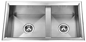 SINK AVANTGARDE 1 & 3/4 BOWL NO DRAINER (INSET)