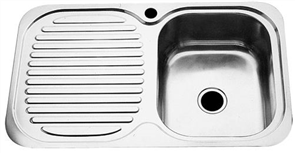 SINK CLASSIC SINGLE BOWL SINGLE DRAINER