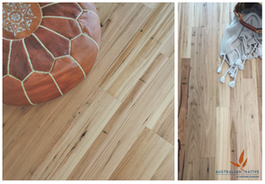 AUSTRALIAN NATIVE - RUSTIC BLACKBUTT ENGINEERED FLOORING 132 x 13.5
