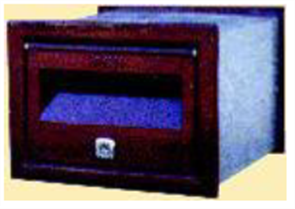 LETTERBOX No 1 FRONT OPENING - 245mm