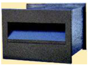 LETTERBOX No 1 REAR OPENING - 245mm