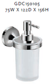 SWIFT SOAP DISPENSER GLASS