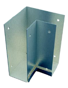 BOXSPAN  CORNER BRACKET EXT. FIT GALVANISED