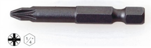 SCREWDRIVER BIT POZI. 51mm No 2 PK10