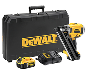 DEWALT 18V XR Li-Ion BRUSHLESS 90mm FRAMING NAILER