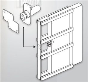 HUME EVOLUTION CAVITY UNIT ONE TOUCH DOOR RELEASE