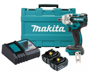 MAKITA DTW285XRTE 18V BRUSHLESS IMPACT WRENCH + CARRY CASE