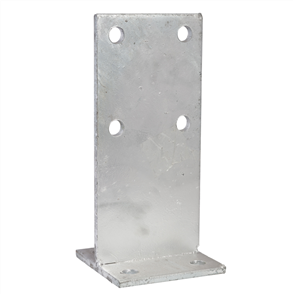 POST SUPPORT CONCEALED T BLADE GALVANISED ANCHOR ONLY