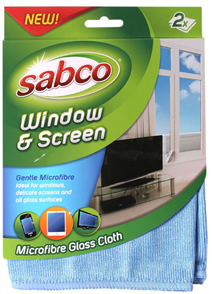 CLOTH WINDOW & SCREEN PK2