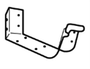GUTTER - HI FRONT QUAD 115mm CAST ANGLE INTERNAL 2PCE 45°