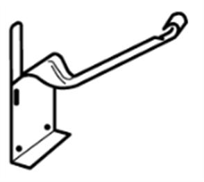 GUTTER - HI FRONT QUAD 115mm CONCEALED BRACKET ZINC