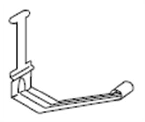 GUTTER - HI FRONT QUAD 115mm STIFFENER METAL FASCIA ZINC