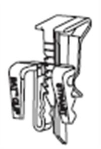 GUTTER - HI FRONT QUAD 115mm SNAP CLIP ZINCALUME