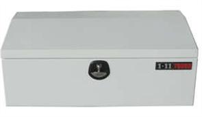 TOOL BOX STEEL LOW PROFILE WHITE w/- WT LOCK