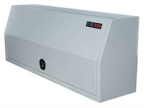 TOOL BOX STEEL LONGREACH FULL DOOR ONE TONNER WHITE w/- WT LOCK