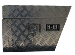 TOOL BOX ALUMINIUM UNDER TRAY FLAT FRONT 600mm