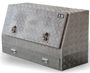 TOOL BOX ALUMINIUM ONE TONNER W / - SINGLE DRAWER 1210mm