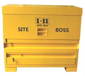 SITE BOX HEAVY DUTY FLIP UP PANEL & DRAWER 1350mm