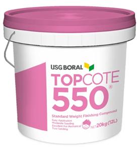 USG PLASTERBOARD TOPCOTE #550 20kg